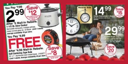 Black Friday Ad for Ace Hardware - Fire Pit for Only $29.99!