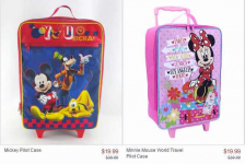Character Luggage, Lunch Boxes and more Up to 40% off!