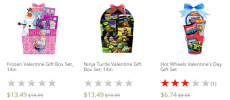 Kids Character Valentines Gift Sets from $6.74 + FREE Store Pick-Up!