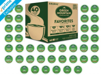 Green Mountain Variety Pack Favorites, 40 K-Cup Pods $13.99 (REG $24.99)