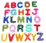 Colorful Wooden Alphabet and Numbers Magnets Only $3.29 Shipped!