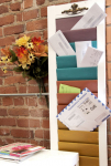 DIY: Window Shutter Mail Sorter