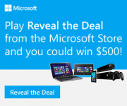 How does $500 off your next Microsoft purchase sound?