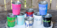 Kids' Mini Personalized Tumblers Only $12.99! Normally $30.00!