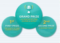 Pampers Mommy Memory Match Sweepstakes – Win Free Diapers!