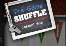 Pre-Game Shuffle Instant Win Game: Win Walmart Gift Cards and more!