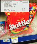 HOT! 41oz. Bags of Skittles Only $1.99 at Walgreens! (Reg. $7.99!)
