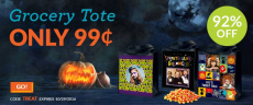 Personalized Halloween Tote Bags Only $0.99 (reg $21) at York Photo!